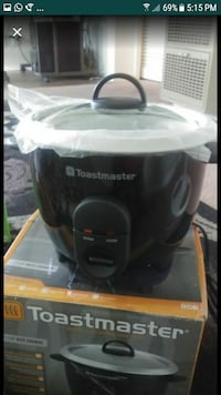 Toastmaster rice cooker five cup