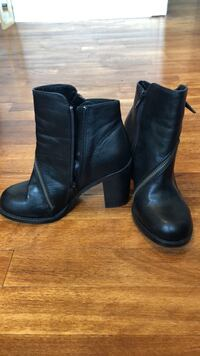 Leather boots size 36 Europe  779 km