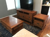 brown wooden cabinet with mirror San Antonio