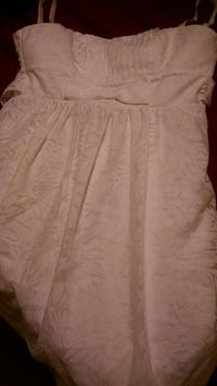 white Maurice's size 5 dress Omaha, 68134