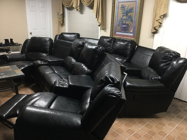 Theater Leather recliners