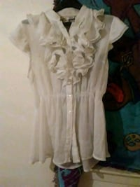 white and brown floral dress Moss Point, 39562