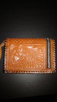 Indian Leather Wallet MONTREAL