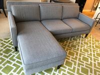 Crate & Barrel Rochelle Sofa and Lounger Newport, 41071