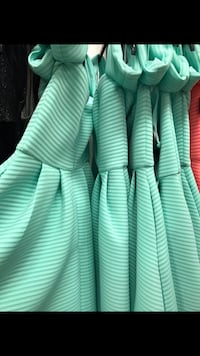 Very nice dress, new and never worn. i am selling the green one