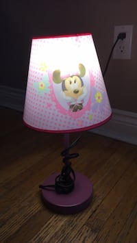 white and pink floral table lamp Richmond Hill, L4B 3B8