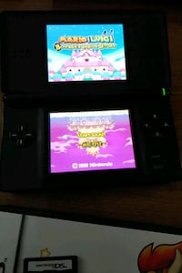 Nintendo DS Lite complete with games