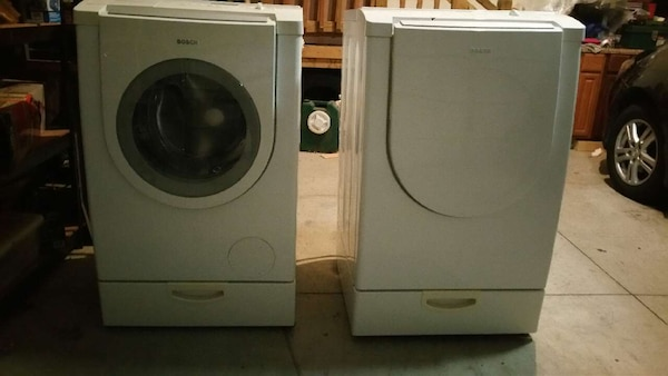 Used Bosch Washer And Dryer Set For Sale In Simpsonville Letgo