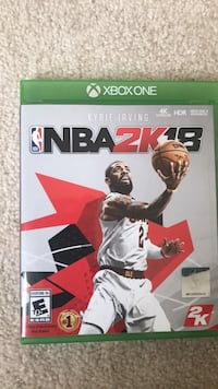 NBA 2k18 Xbox One 45 km