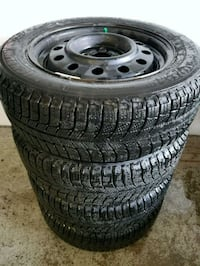Chevy Aveo rims and winter tires  Toronto, M6L 1A4