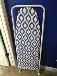 Blue and white over the door ironing board Augusta, 30909