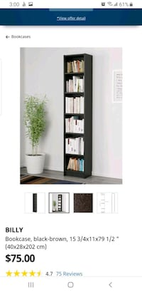 Billy IKEA bookcase Toronto, M2M 4M7