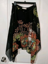 black and red floral long-sleeved dress Brampton, L6P 3P6