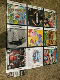 Nintendo 3ds and ds games  Edmonton, T5W 2V6