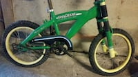 green and black BMX bike 1180 mi