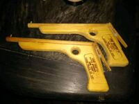 Rubber Band Guns Handmade... 2 pistol set