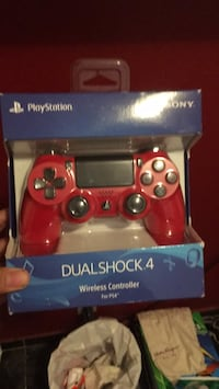 red Sony PS4 Dualshock 4 wireless controller Los Angeles, 90059