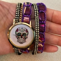 Sugar skull watch price is for one piece Henrico, 23233