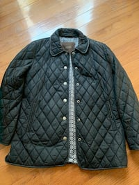 Ladies Coach Quilted Black Jacket Medium