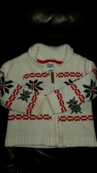 18 month old boys holiday sweater  Surrey, V3W 5S8