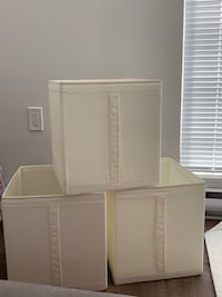 3 IKEA STORAGE BOXES  Vancouver, V5N