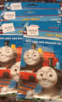 Thomas the Tank Birthday Goody Bags