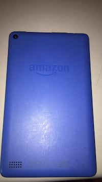 Blue kindle amazon fire tablet 24 km