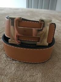brown and black leather belt Katy, 77450