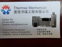 Hvac repair/install for residential and commercial Markham