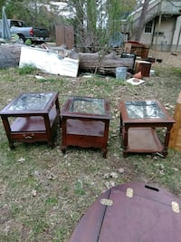 four brown wooden side tables Morrisville, 27560