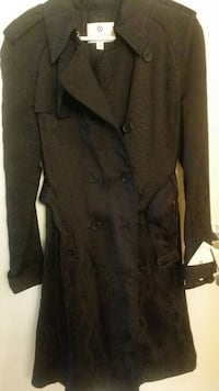 black button-up coat Mississauga, L4W 2X9