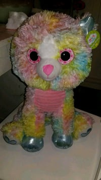 pink and yellow bear plush toy Redlands, 92373
