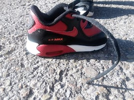 Red and Black  Nike Air  Maxes
