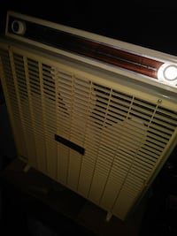 Vintage box fan with thermostat New Castle, 19720