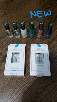 NEW Sally Hansen Hard as Nails Bundle McLean