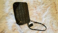 Black and grey signature coach wristlet  Baltimore