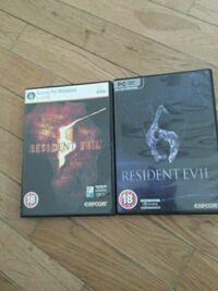Resident Evil 5 & 6 PC edition Martinsburg, 25405