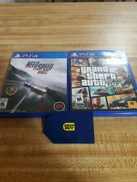 Ps4 games 50$ Best buy gift card  Edmonton, T5Z 3W5