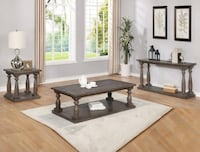 Regent Gray 3-Piece Coffee Table Set (1C2E) | CM-4270 77036