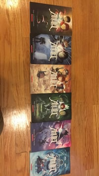 Amulet book series. $7 per book. $40 for all 6 Chicago, 60707