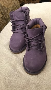 Purple Timberlands (Toddler) Edmonton, T5C