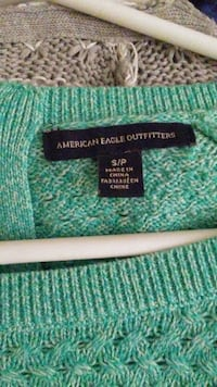 Turquoise crew neck knit Halifax, B3K 6S2