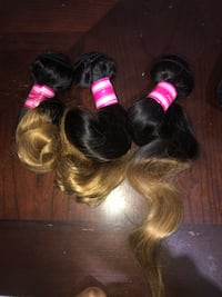 14 16 18 ombré loose wave bundles  Memphis, 38109