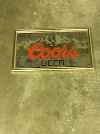 Coors 1998 mirror New Castle