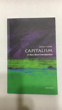 Capitalism by James Fulcher book