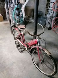 Rusty bike for sale