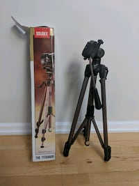 black and gray tripod stand Vancouver, V6R 3T3