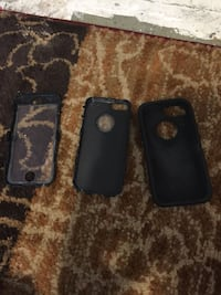 Black iphone 5 5s and 5se case Winnipeg, R3J 1T3