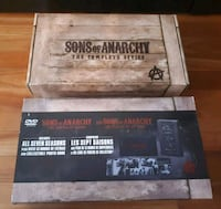 Complete series sons of anarchy 30 dvd Montréal, H1Y 1Z6