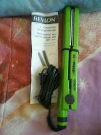 two green and black hair flat irons Kitchener, N2E 2X1